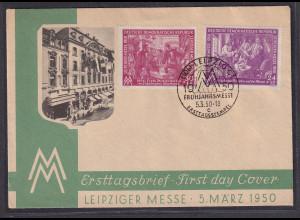 DDR. FDC. Mi.-Nr. 248-249