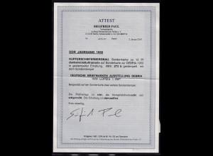 DDR. 1950 FDC. Mi.-Nr. 273 b, FA. PaulBPP.