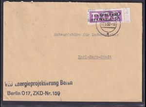 DDR., Dienst-Brief EF. Mi.-Nr. 11 /1602
