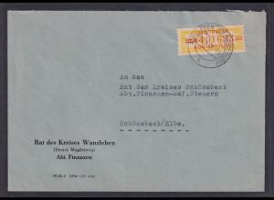 DDR., Dienst-Brief, EF. Mi.-Nr. 17 A