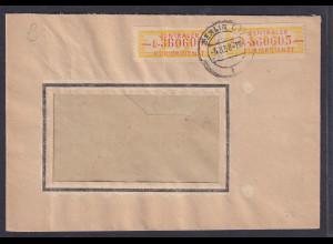 DDR.,Dienst-Brief, MeF. Mi.-Nr. 16 L