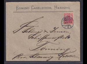 DR., Fernbrief mit EF. Mi.-Nr. 56 C, sign. Jäschke-L.