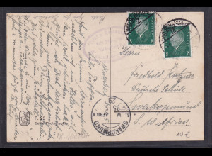 DR, Postkarte nach Swakopmund 1929
