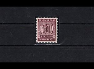 SBZ-West Sachsen Mi.-Nr. 137 wb Y, postfrisch, FA. StröhBPP.