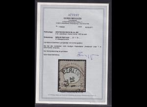 DR., Mi.-Nr. 6 II, gestempelt, FA. BruggerBPP