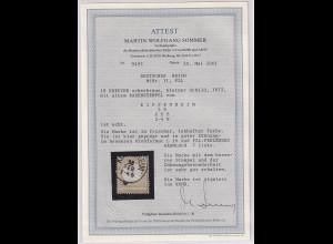 DR, Mi.-Nr. 11, FZL, gestempelt, FA.SommerBPP