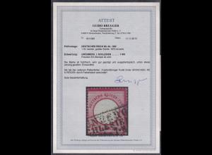 DR, Mi.-Nr. 19 III, gestempelt, FA. BruggerBPP