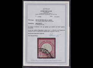 DR, Mi.-Nr.19 XXIIIc, gestempelt, FA. BruggerBPP