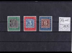 Bund., Mi.-Nr. 113-115, postfrisch.