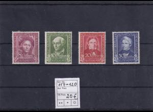 Bund., Mi.-Nr. 117-120, postfrisch.