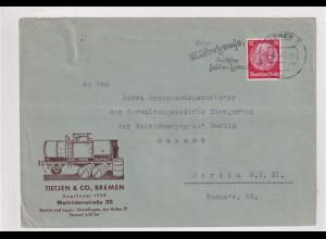 DR. Reklamebrief, Tietjen & CO., Bremen