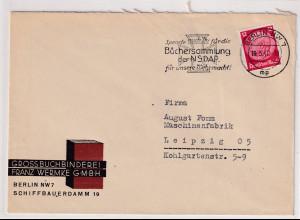 DR. Reklamebrief, Grossbuchbinderei Franz Wermke GmbH Berlin