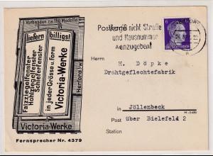 DR. Reklame-Karte, Viktoria-Werke Herford