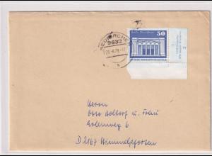 DDR. Ausland-Brief mit EF, Mi.-Nr. 1880 DV