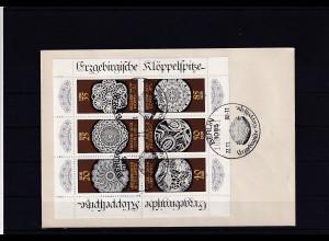 DDR. FDC . Kleinbogen Mi.-Nr. 3215-3220