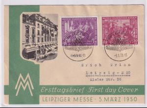 DDR. FDC , Mi.-Nr. 248-249