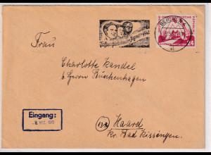DDR. Fernbrief mit EF. Mi.-Nr. 282