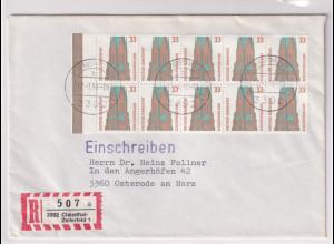 Bund, R-Fernbrief/FDC. mit Me.F. Mi.-Nr. 1399