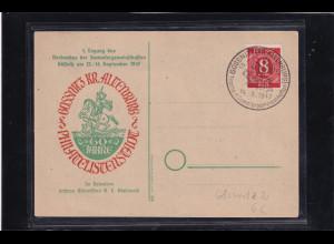 DDR/ SBZ, Sonderpostkarten 1 Tagung des Verbandes der Sammlelgemeinschaften