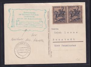 DDR/ SBZ, Sonderpostkarten Restaurierung der östlichen Postsäule in Löbau