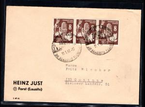 DDR. Fernbrief mit MeF. Mi.-Nr. 277, sign. PaulBPP.