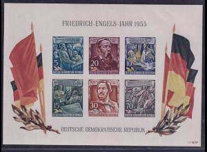 DDR., Mi.-Nr. BI.13 YII, postfrisch PF. roter Punkt Befund Mayer