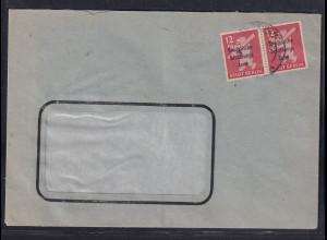 SBZ., Fensterbrief mit MeF. Mi.-Nr. 204 A