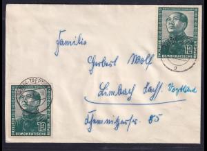 DDR., Fernbrief mit MeF. Mi.-Nr. 286