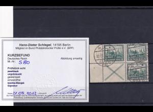 DR., Mi.-Nr. S 80/W37 gestempelt, Kurzbefund Schlegel.