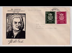Bund , FDC, Mi.-Nr. 121 - 122, FA. A.SchlegelBPP.
