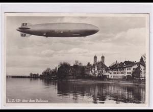 DR., Zeppelin-Karte LZ 129