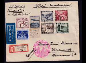DR., Zeppelin-Brief Nordamerika Fahrt Si. 441c