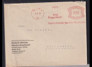 DR. Reklame-Brief, mit Freistempel Deutsche Getriebe-Handels-Gesellschaft Berlin