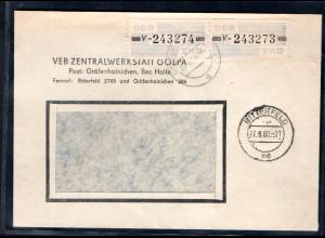 DDR. ZKD-Brief, MeF. Mi.-Nr. 26