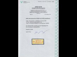 DDR Dienstmarken Mi.Nr. 18 I N2, postfrisch, FA. Mayer