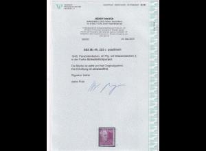 SBZ., Mi.-Nr.223 c, postfrisch, FA. Mayer
