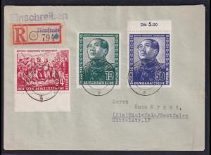 DDR., FDC. Mi.-Nr. 286-288, FA. Mayer