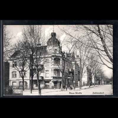 Ansichtskarte Berlin Zehlendorf Neuestr.