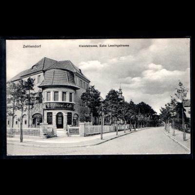 Ansichtskarte Berlin Zehlendorf Kleiststr, ecke Lessingstr
