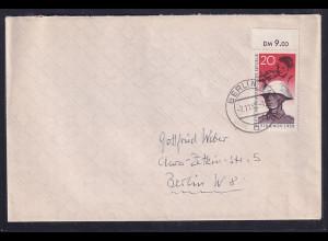 DDR. Fern-Brief/FDC. mit EF. Mi.-Nr. 662 mit OR