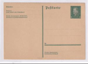 DR, Ganzsache Mi.-Nr. P181 II, ungebraucht