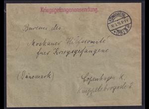 DR., Kriegsgefangenensendung aus Königsberg nach Kopenhagen