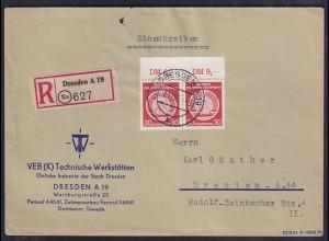 DDR.,R-Fernbrief, Mi.-Nr. D 11