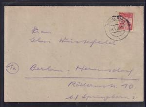 SBZ, Fernbrief, EF, Mi.-Nr. 18 IIc, sign. KrampBPP.