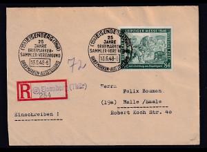 SBZ., R-Fernbrief, EF. Mi.-Nr. 968