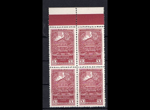 Sowjetunion, Mi.-Nr. 761 postfrisch, 4er Block mit OR..