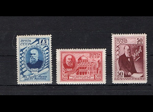 Sowjetunion, Mi.-Nr. 801-03 postfrisch.