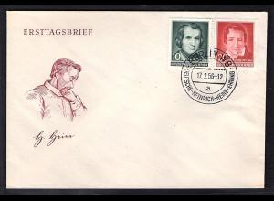 DDR.FDC. Mi.-Nr. 516-517