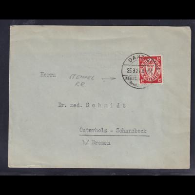 Danzig, EF, Mi.-Nr.214 von Chem.Pharm. Fabrik G. Pohl aus Schönbaum