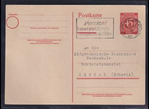Gemeinschaftausgaben, Ganzsache Mi.-Nr. P 955 I gelaufen